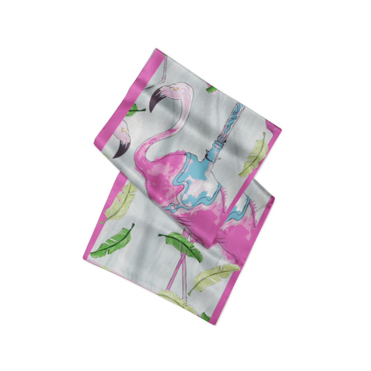 Sample of Flamingo Neckerchief - sleekitstore
