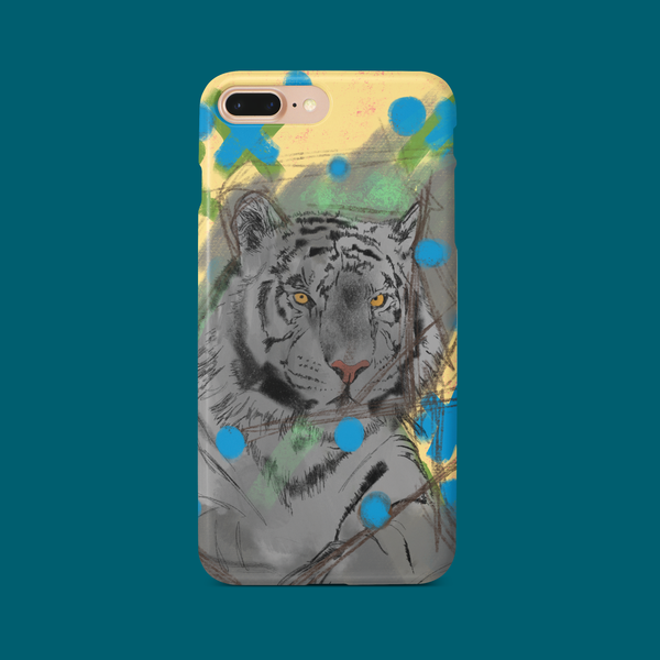 iPhone 8 Tiger Print