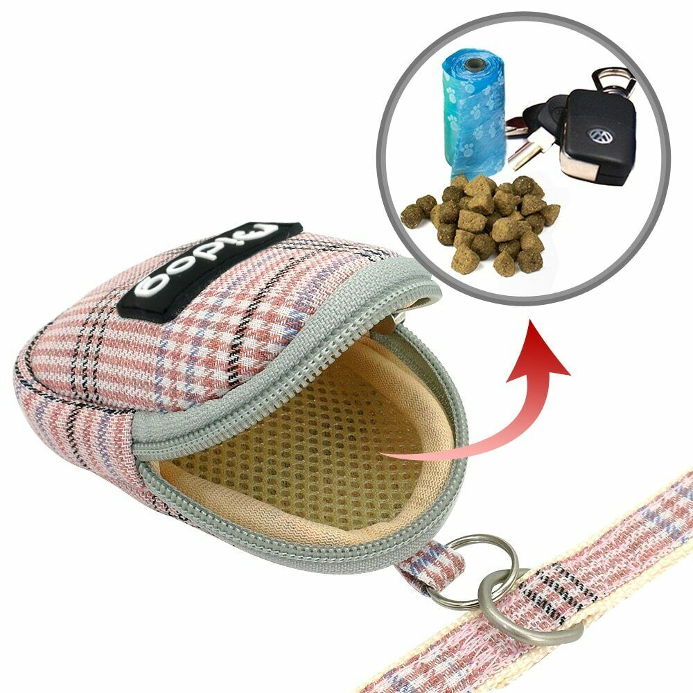 Dog Harness No Pull Mesh Vest, Bag and Leash Set Soft Adjustable Breathable
