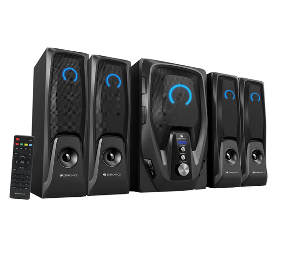 Zebronics Mambo-BT RUCF 4.1 Multimedia speaker with 1 year Warranty - Tulip Smile