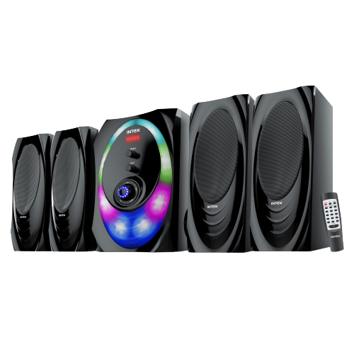 intex 4.1 XH 4500 SUFB multimedia speaker USB/SD/FM/BT/AUX - Tulip Smile