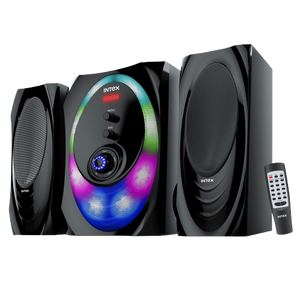 Intex 2.1 XH 3000 SUFB multimedia speaker USB/SD/FM/BT/AUX - Tulip Smile