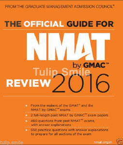 The Official Guide for NMAT by GMAC Review 2016 book - Tulip Smile