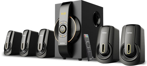 Intex 5.1 XM 6020 SUFB multimedia speaker USB/SD/FM/BT/AUX/DVD - Tulip Smile