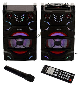 Zebion Whambox Tres Twin Towers DJ Speakers - Tulip Smile