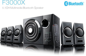 F&D F3000X 5.1 multimedia Bluetooth speaker System with one year Manufacturer warranty - Tulip Smile