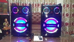 Zebion whambox DOS bluetooth DJ speakers with 1 year Manufacturer Warranty - Tulip Smile