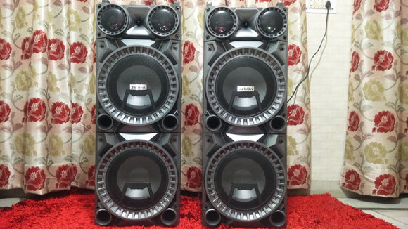 Zebion Whambox ROCK DJ Speakers karaoke compatible - Tulip Smile