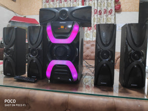 Zebion 5.1 super star bluetooth multmedia speaker - Tulip Smile
