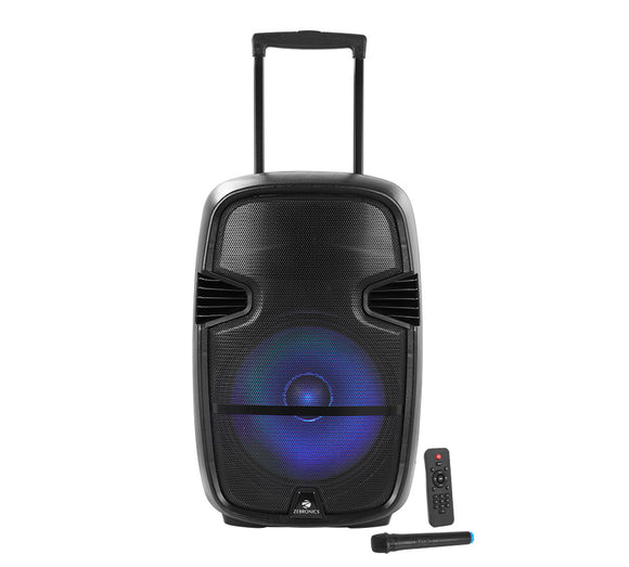 ZEB-TRX115L trolley bluetoth speaker | Karaoke compatible | Recording function - Tulip Smile
