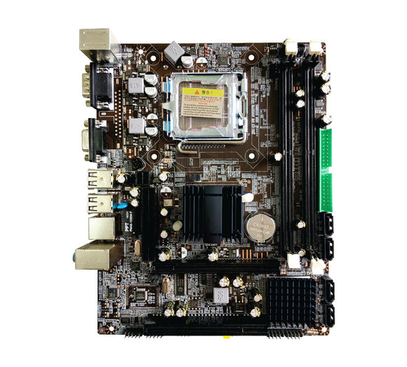 Zebronics Zeb-Z31 motherboard for intel socket LGA775 - Tulip Smile