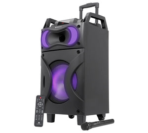 Zeb-Moving Monster x12 12 inch bluetooth trolley speaker | Karaoke | - Tulip Smile