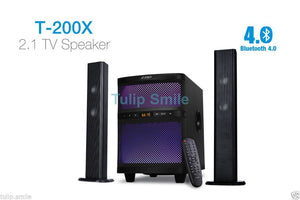 New F&D Fenda T200X 2.1 Bluetooth computer TV DVD Speaker With USB/SD/FM/REMOTE - Tulip Smile