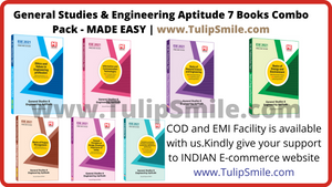 Made Easy ESE 2021 Prelims General Studies And Engineering Aptitude (Combo) 7 books