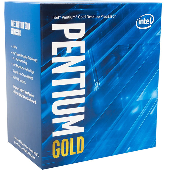 Intel Pentium G5400 Desktop Processor 2 Core 3.7GHz LGA1151 Socket LGA 1151 - Tulip Smile