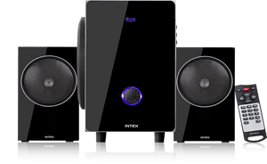 Intex 2.1 XV 2720 FMUB multimedia speaker FM/USB/BT/AUX - Tulip Smile