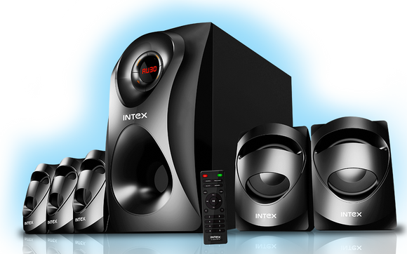 Intex 5.1 XV Craze SUFB surround mutltimedia speaker - Tulip Smile