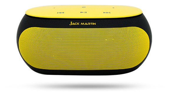 Jack Martin Muze Portable Bluetooth Speaker - Tulip Smile