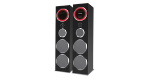 Jack Martin ARENA Tower Speaker 240 W RMS - Tulip Smile