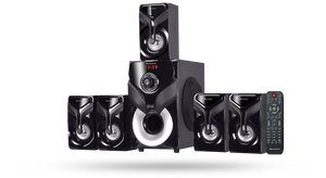 Jack Martin JM 9K B 5.1 Channel Multimedia Speaker 125W RMS - Tulip Smile