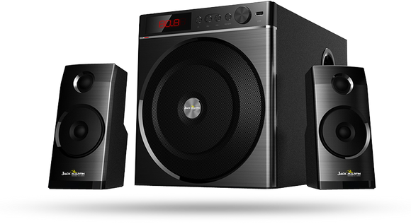 Jack Martin JM 1010 2.1 Channel Multimedia Speaker 90W RMS - Tulip Smile