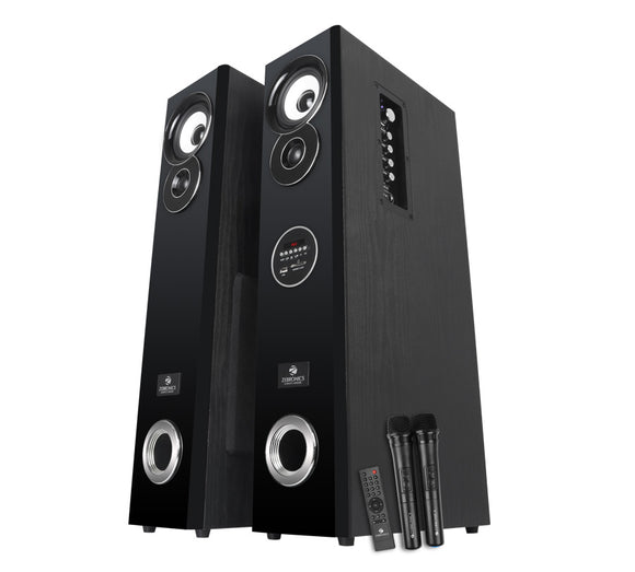 Zebronics Zeb-BT7800RUCFO bluetooth tower speaker | Karaoke singing | recording - Tulip Smile