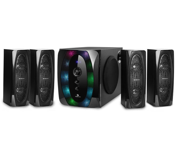 Zebronics 4.1 Halo Multimedia speaker with 1 Year Manufacturer Warranty - Tulip Smile