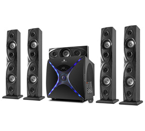 Zebronics Dhoom-BT RUCF 5.1 Multi Media computer speaker system - Tulip Smile