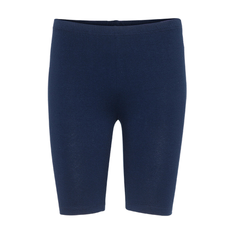 Viskose stretch shorts blå