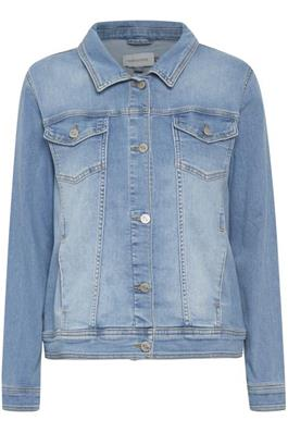 DHCille Denim Jacket Light Blue Wash