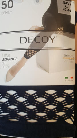 Decoy leggings - Navy Net