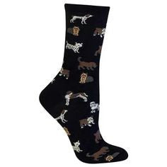 Hot Sox Women's Originals New Classic Dogs Trouser Sock