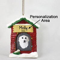 GREAT PYRENEES HOUSE ORNAMENT (PERSONALIZE-IT-YOURSELF)