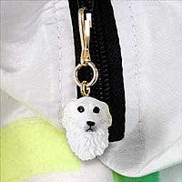 GREAT PYRENEES ZIPPER CHARM