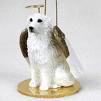 GREAT PYRENEES PET ANGEL ORNAMENT