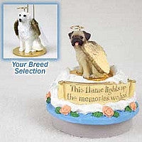 GREAT PYRENEES CANDLE TOPPER TINY ONE PET ANGEL ORNAMENT