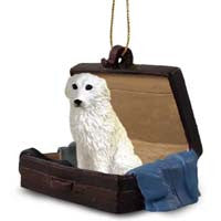 GREAT PYRENEES TRAVELING COMPANION ORNAMENT