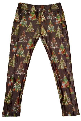 Christmas Tree Full Length Legging WITH pockets-Full-Shop-Absolute Paris Boutique-Womens-Clothing-Store