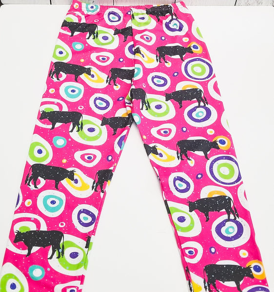 ComfyCute Pants - Super Funky Steer--Shop-Absolute Paris Boutique-Womens-Clothing-Store