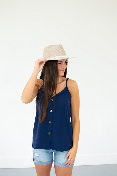 Button Down Tank | 13 Colors!--Shop-Absolute Paris Boutique-Womens-Clothing-Store