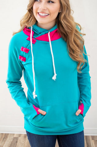 Summer Brights Beach Hoodie - Absolute Paris Boutique