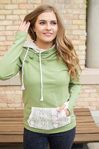Sage and Lace Hoodie Now Available in Kids!--Shop-Absolute Paris Boutique-Womens-Clothing-Store