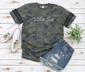 Hide Me Camo Tee - Retired--Shop-Absolute Paris Boutique-Womens-Clothing-Store