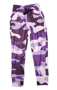 Kids Purple Camo Jogger - Absolute Paris Boutique