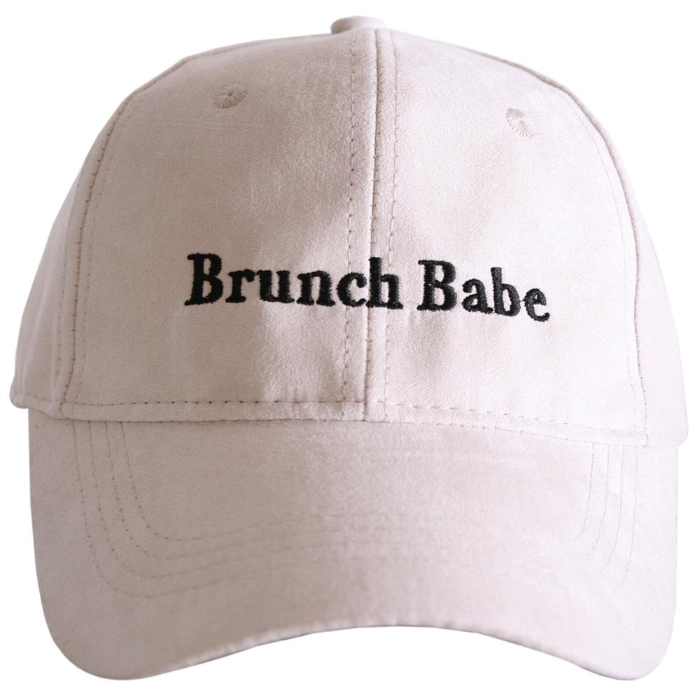 Brunch Babe Suede Hat-baseball hats-Cream-Shop-Absolute Paris Boutique-Womens-Clothing-Store