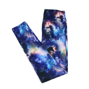 Unicorn Sky (kid size leggings)-Full-Shop-Absolute Paris Boutique-Womens-Clothing-Store