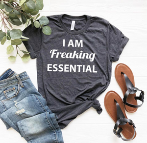 Essential Grey-Graphic Tee-Shop-Absolute Paris Boutique-Womens-Clothing-Store