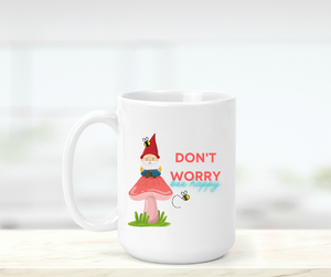 Don't Worry Bee Happy Mug - Absolute Paris Boutique
