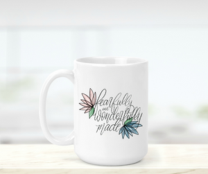 Fearfully and Wonderfully Made Mug-Mug-Shop-Absolute Paris Boutique-Womens-Clothing-Store