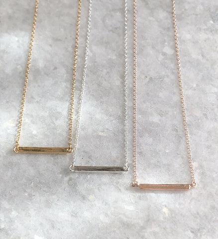 Latitude Bar Necklace-Necklace-Shop-Absolute Paris Boutique-Womens-Clothing-Store